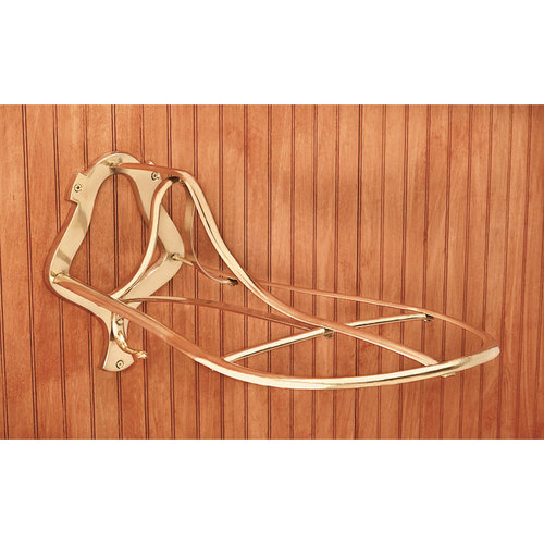 Dover Saddlery® Brass Saddle Rack