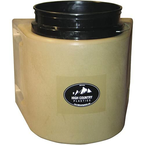 Insulated bucket holder