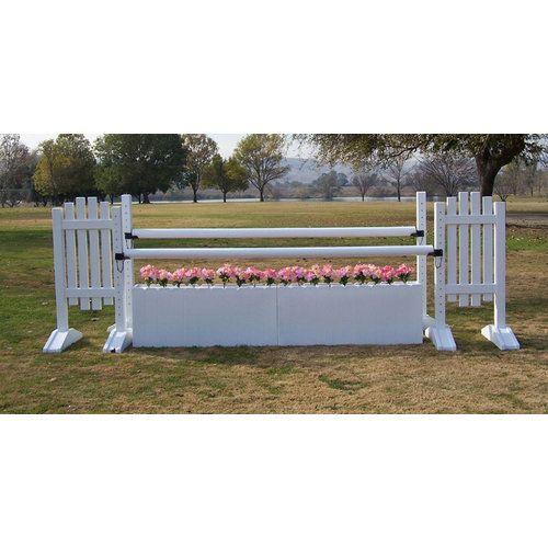 Burlingham Sports Picket Fence Oxer Jump