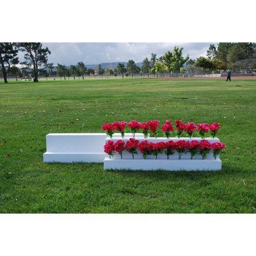 Burlingham Sports Two Tier Flower Box
