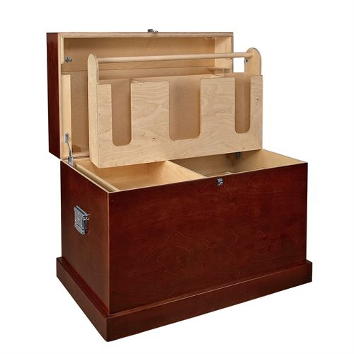 Dover Saddlery® Hardwood Trunk with Bandage Lid