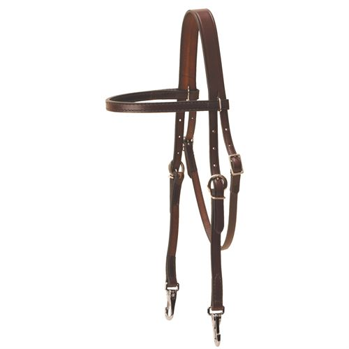 Tory Leather Quick Change English Training Headstall