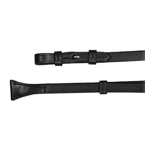 Vespucci Dressage Curb Reins with Hook Studs