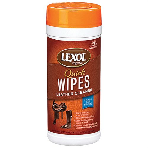 Lexol® Leather Cleaner Quick Wipes