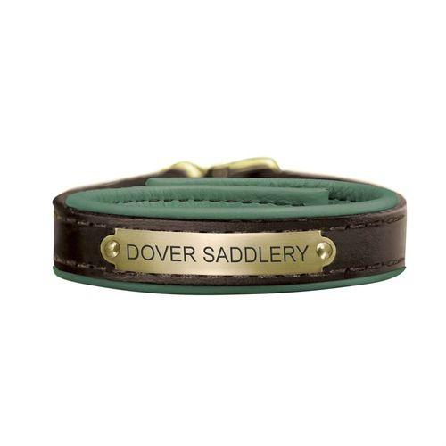 Perri's® Padded Leather Nameplate Bracelet