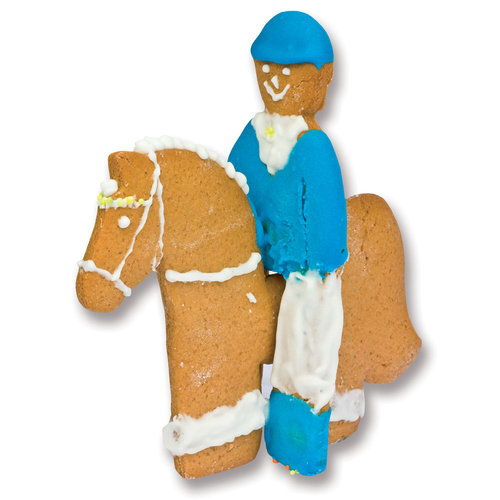 Kelley And Company Horse And Rider Cookie Cutter Dover