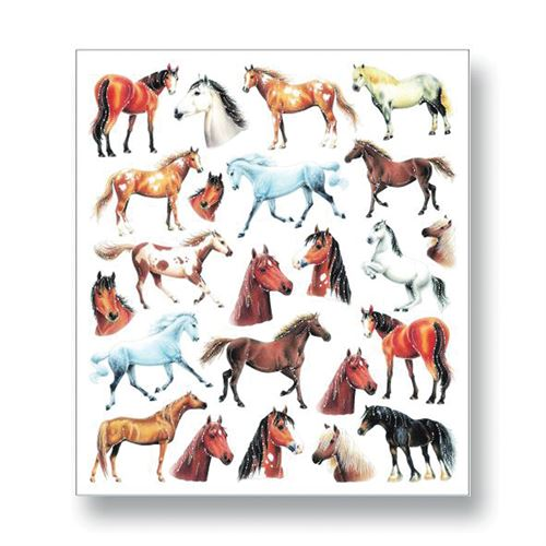 Kelley And Company Colorful Horse Stickers Dover Saddlery