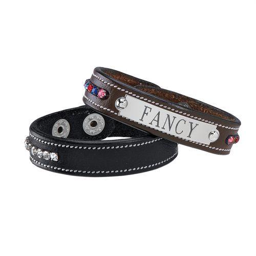 Crystal Leather Nmplt Bracelet