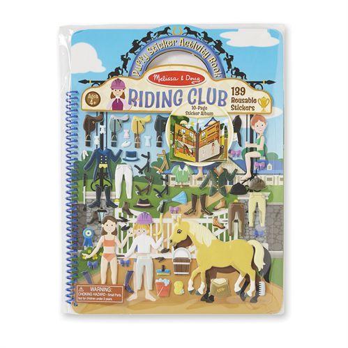 Riding Club Puffy Sticker Activity Book