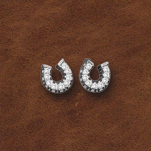 Kelly Herd Horseshoe Earrings