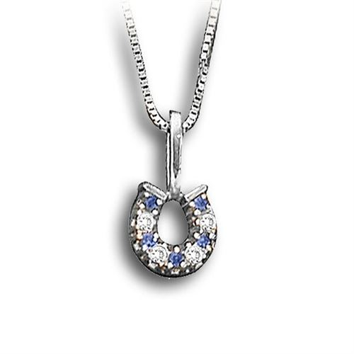 Kelly Herd Horseshoe Necklace - Colors