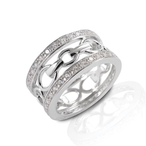 Kelly Herd Wide Band Bit Ring
