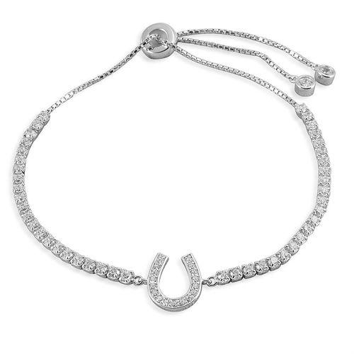 Kelly Herd Horseshoe Bolo Bracelet