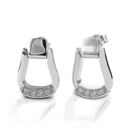 Kelly Herd Oxbow Stirrup Earrings