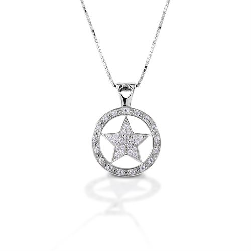 Kelly Herd Large Star Pendant Necklace
