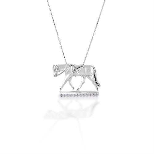 Kelly Herd English Horse Necklace