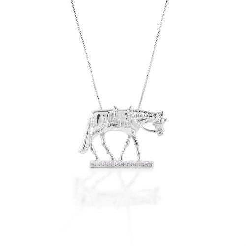 Kelly Herd Western Horse Necklace
