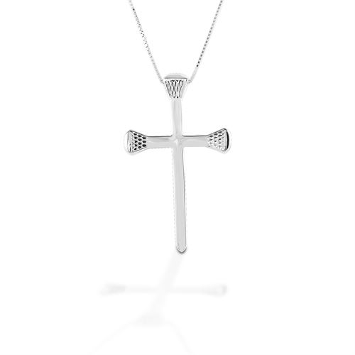 Kelly Herd Horseshoe Nail Cross Necklace
