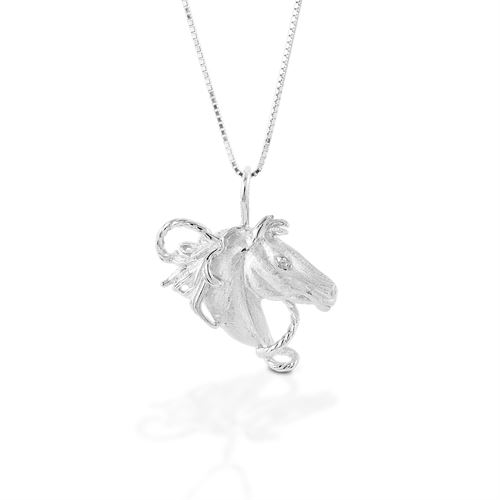Kelly Herd Horsehead Necklace