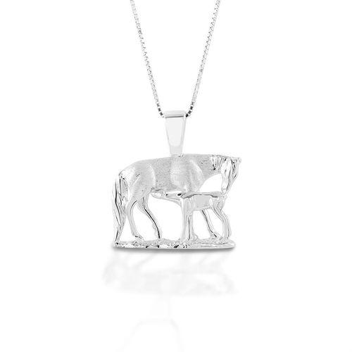 Kelly Herd Nursing Mare & Foal Necklace