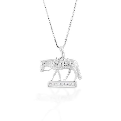 Kelly Herd Small Western Pleasure Horse Necklace