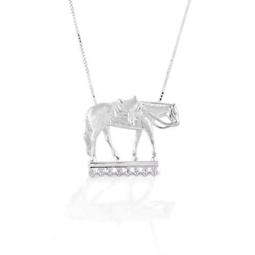 Kelly Herd Large Western Pleasure Horse Necklace