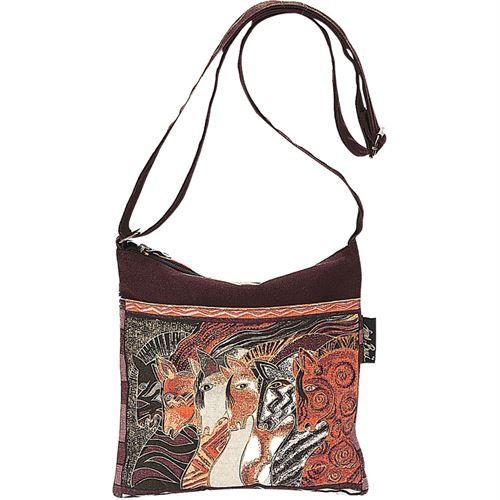 Laurel Burch Moroccan Mares Crossbody Bag
