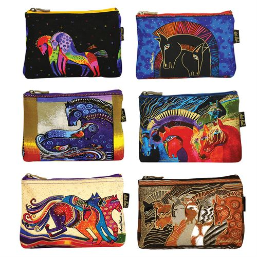 Laurel Burch Mythical Horse Cosmetic Tote