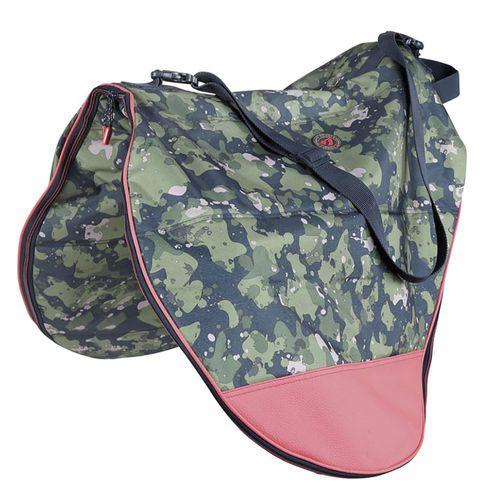 Shires Aubrion Camo Saddle Bag