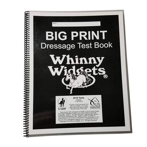 Big Print DressageTests