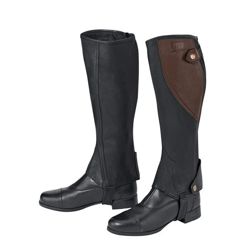 Riding Sport By Dover Two Tone Half Chaps Dover Saddlery