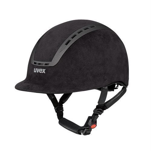 uvex suxxeed velour helmet dover saddlery. Black Bedroom Furniture Sets. Home Design Ideas