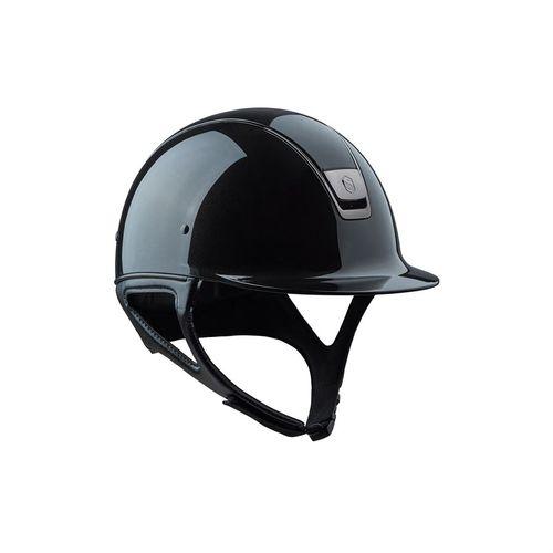 Samshield® Shadowglossy Helmet** with Black Chrome Trim
