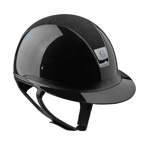 Samshield® Miss Shield Shadowglossy with Alcantara® Top Helmet**