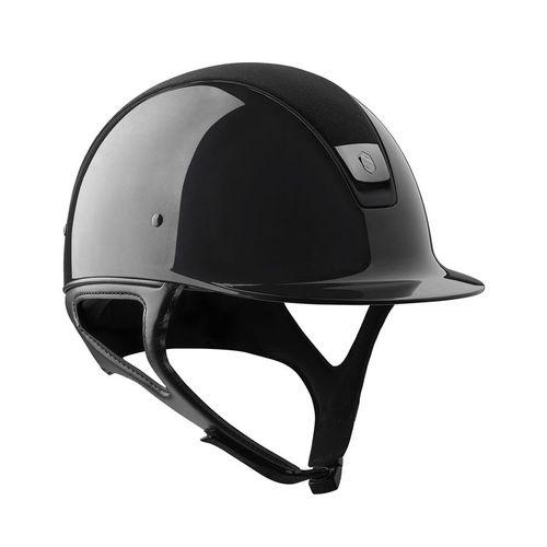 Samshield® Shadowmatt® Glossy Blue Top with Alcantara® Helmet