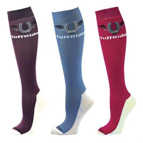 TuffRider® Ladies' Coolmax® Boot SocksThree-Pack
