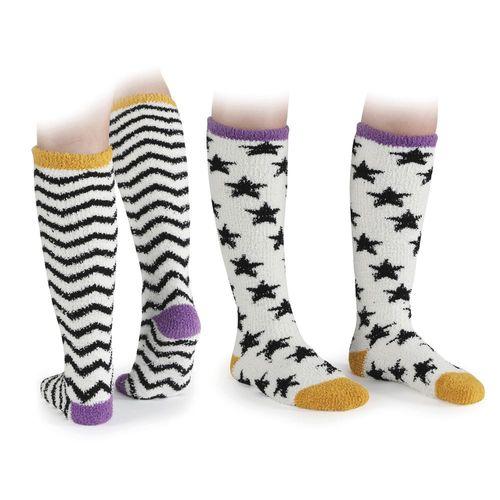 Shires Children's Fluffy Socks Two-Pack