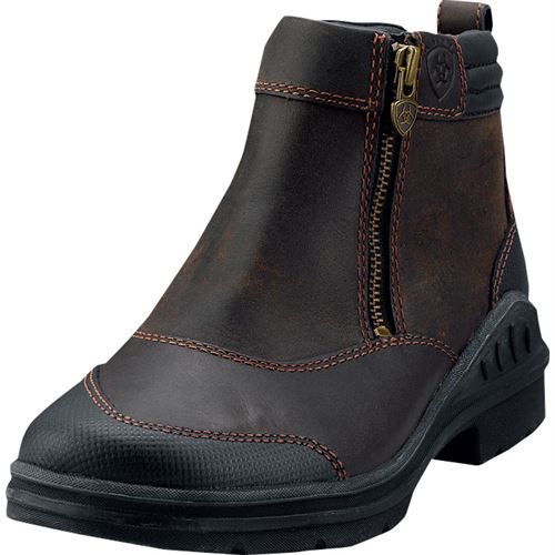 factory authentic meticulous dyeing processes buying new Ariat® Ladies' Barnyard Side-Zip Paddock Boots