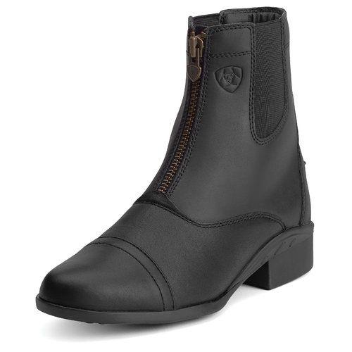 Ariat Ladies Scout Zip Paddock Boots Colors Options Black