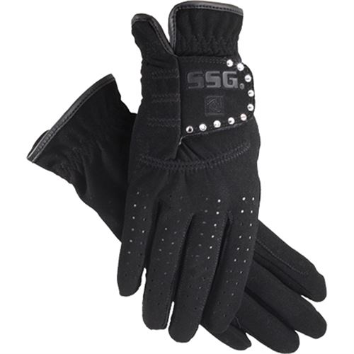 SSG® Grand Prix Riding Glove with Crystals
