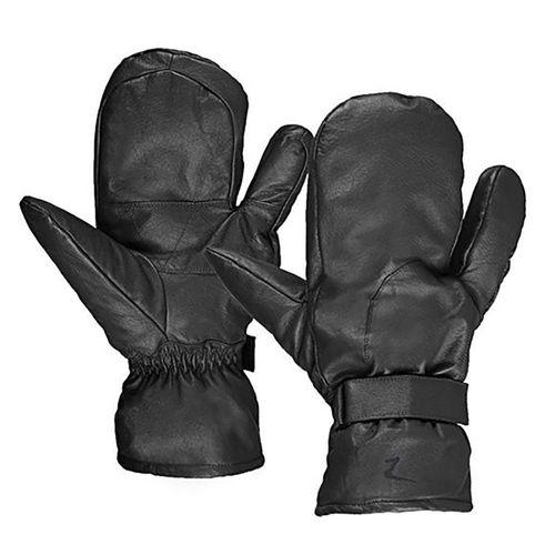Horze Three-Finger Leather Mittens