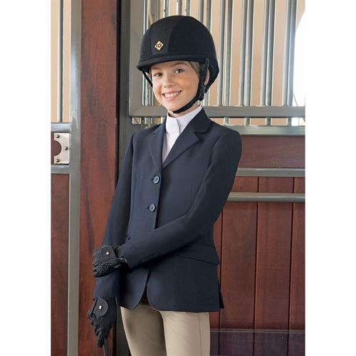 R.J. Classics Girls Hampton Basic Show Coat