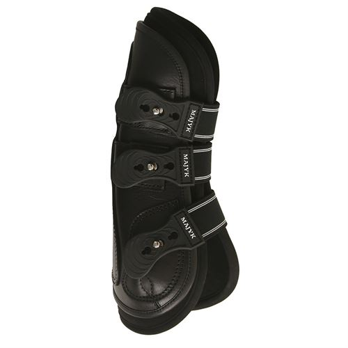 Majyk Equipe® Leather Jump Boots with Removable ImpactLiners (Snap Closure)
