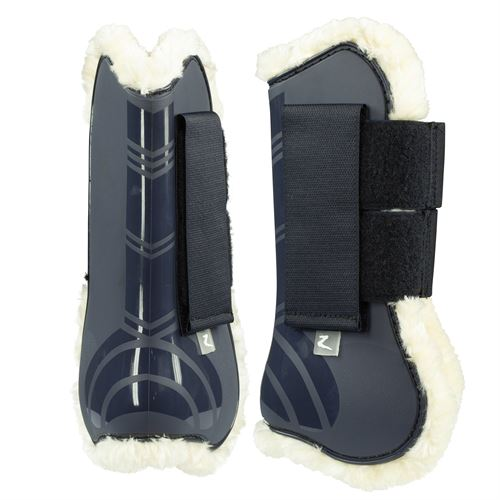 Horze Caliber Tendon Boots with Pile Lining