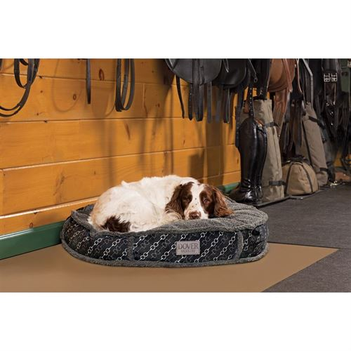 Dover Saddlery® Medium Bit-by-Bit™ Round Dog Bed