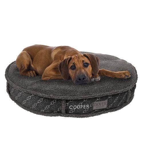 Dover Saddlery® Large Bit-by-Bit™ Round Dog Bed