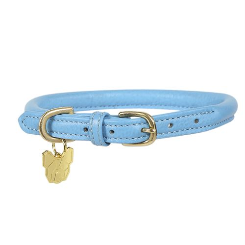 Shires Digby & Fox Rolled Leather Dog Collar
