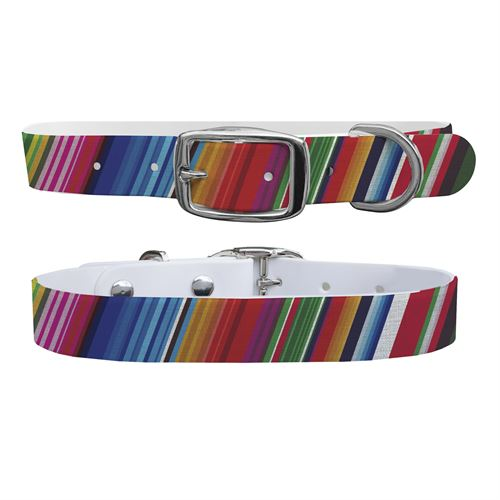C4 Pattern Small Dog Collar