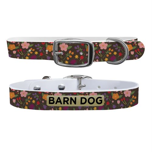 C4 Floral X-Large Dog Collar