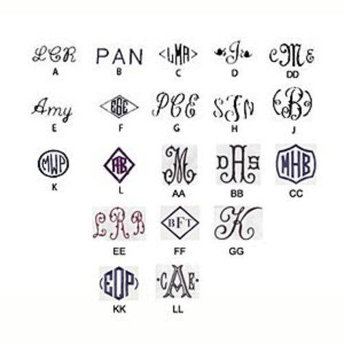 Dover Trunk Cover Basic Monogram